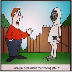 fencing job