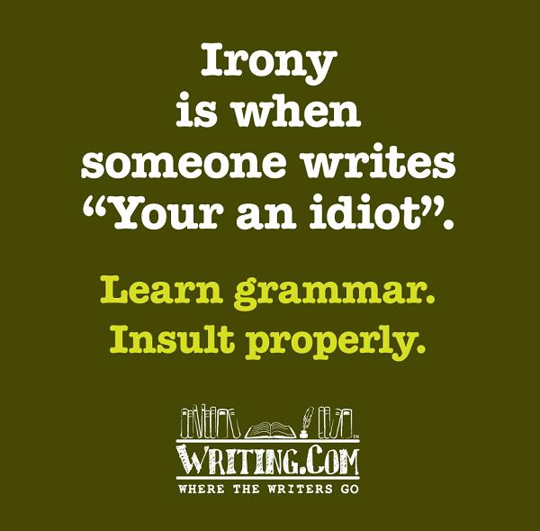 Irony for idiots