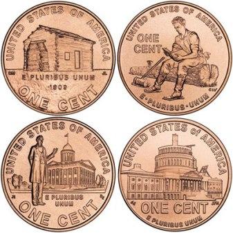 Lincoln bicentennial set