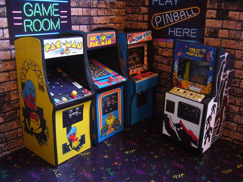 Arcade room games
