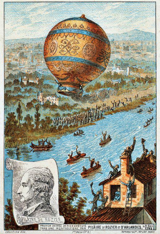 DeRozier balloon