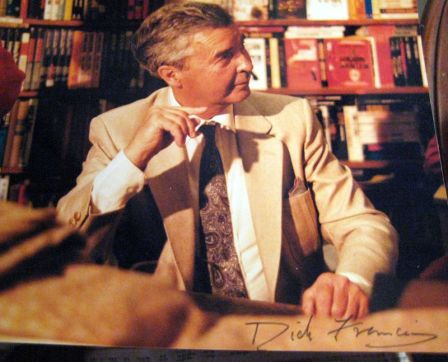 dick francis signing books