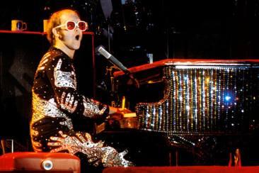 Elton John crazy outfit