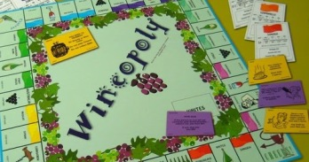 monopoly wineopoly board game