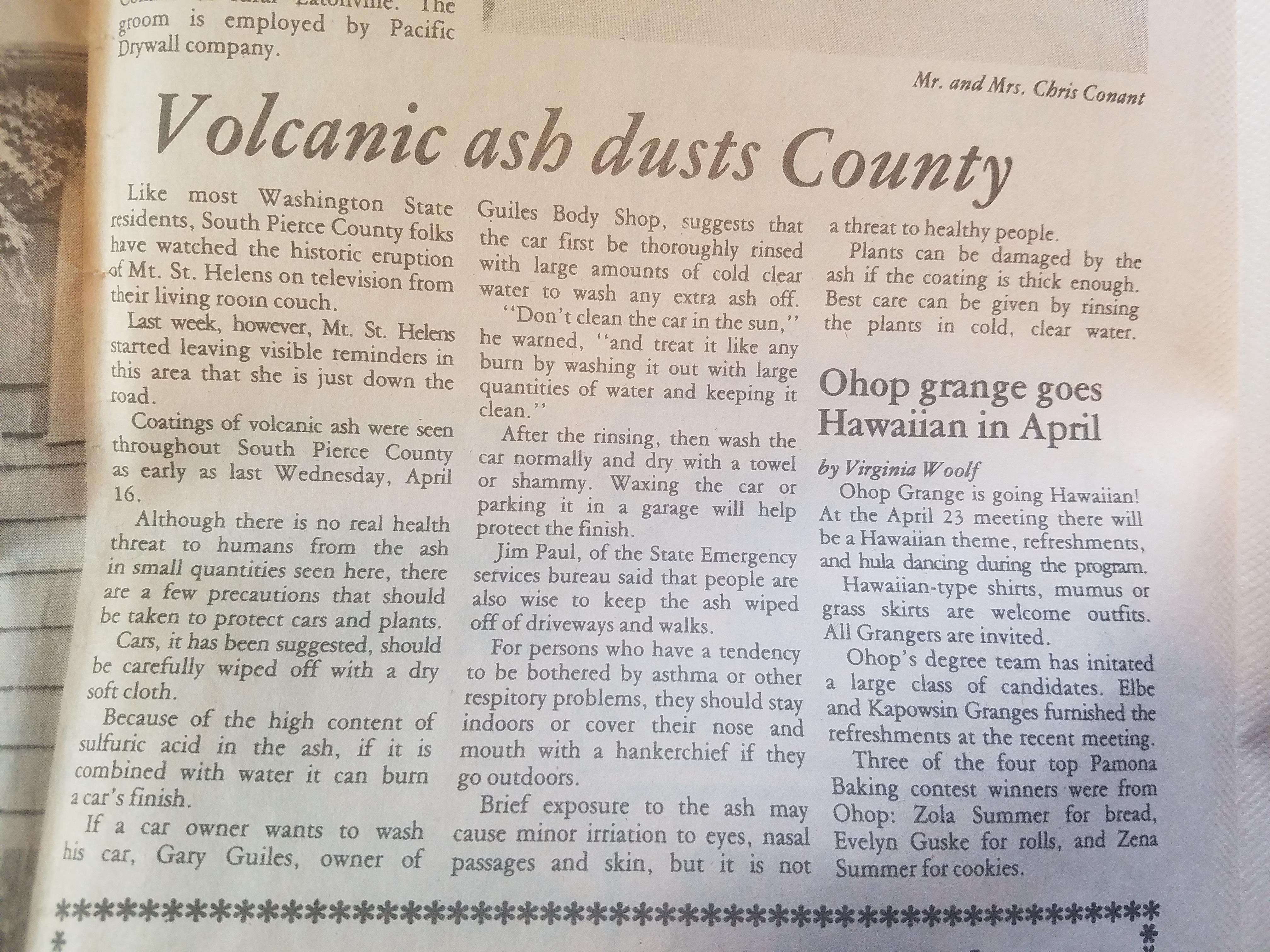 Dispatch article April 23 1980