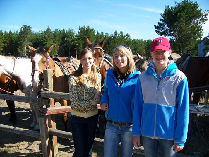Girls with horses 2008.jpg