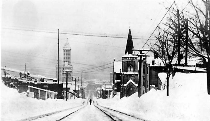 9th and James 1916 snowstorm