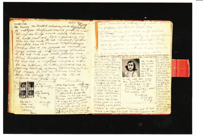 interior pages of diary