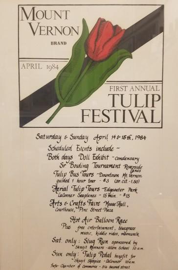 1984 Tulip Festival poster