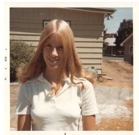 Barb 1973 during pool construction