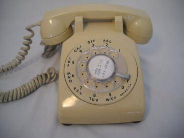 Beige phone