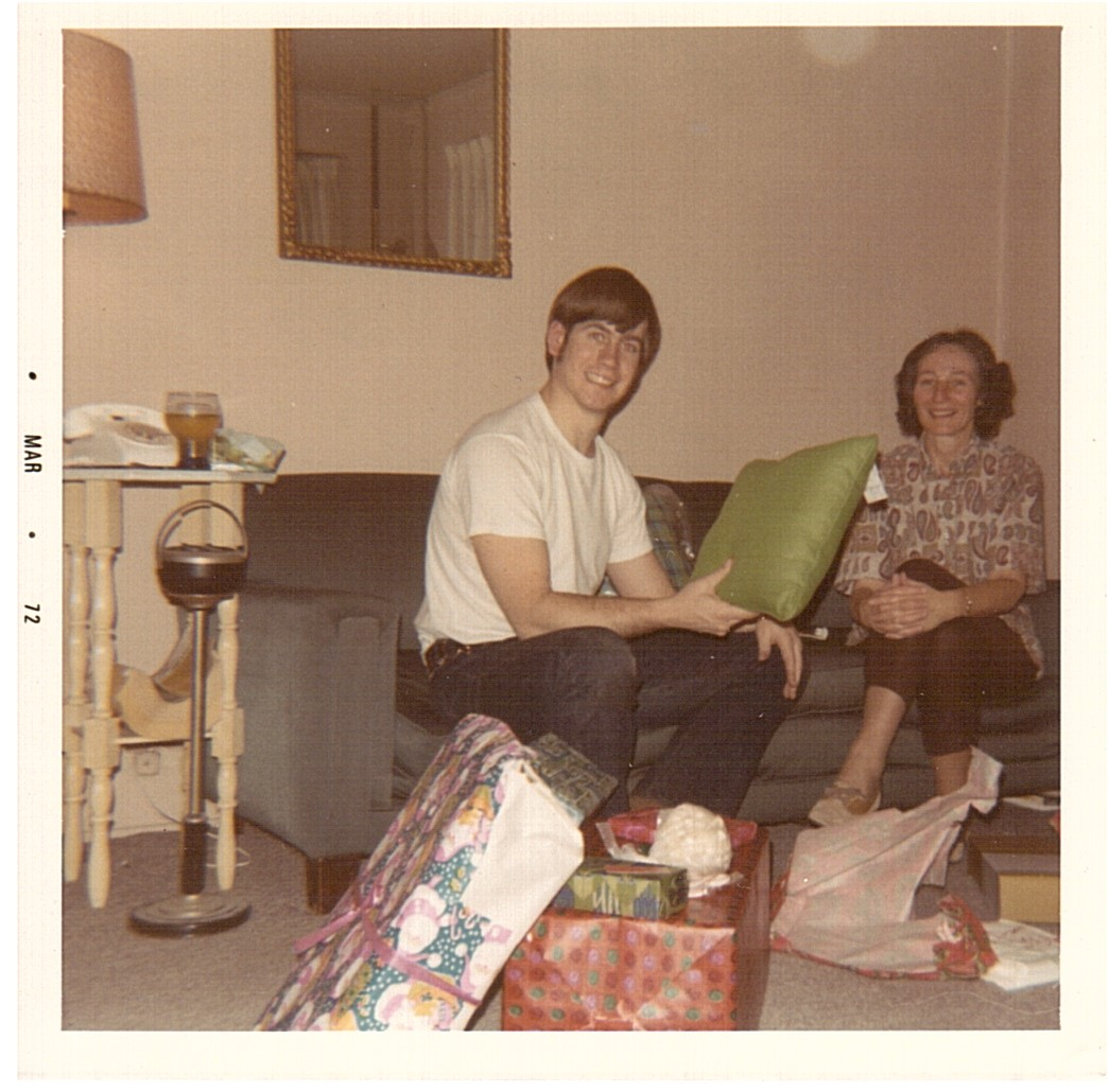Mike's Beacon Hill apartment December 1971