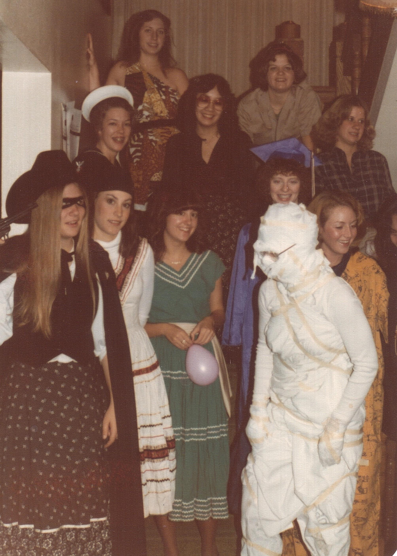 Alpha Phi Halloween event 1978